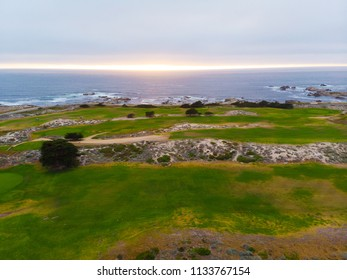Aerial View of Pacific Grove Golf Course
