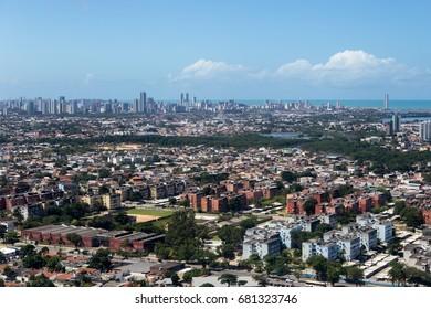 Aerial view of Pernambuco - Brazil