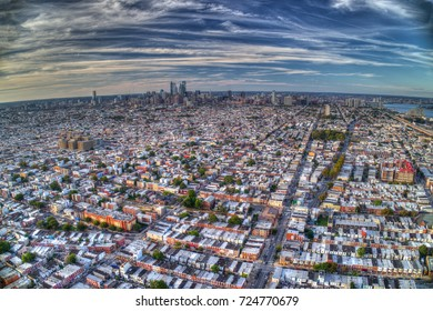 Aerial View Of Philadelphia PA