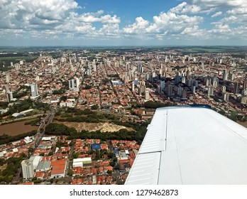 Aerial view of Piracicaba SP Brazil