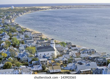 Aerial View of Provincetown, Massachusetts