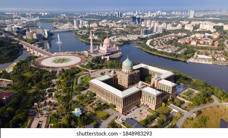 Aerial view of Putrajaya Prime Minister office