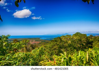 Aerial view of Queensland Australian Coast.