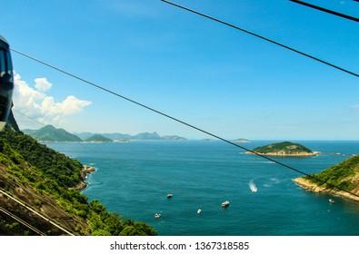 Aerial view of Rio de Janeiro, Brazil