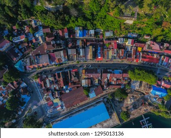Aerial view Sabang city at Weh Island, Aceh Province, Indonesia