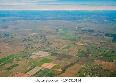 Aerial view, Sacramento County, California