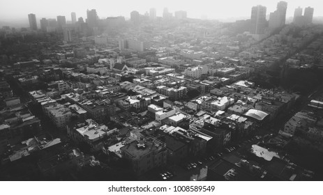 Aerial View Of San Francisco Skyline