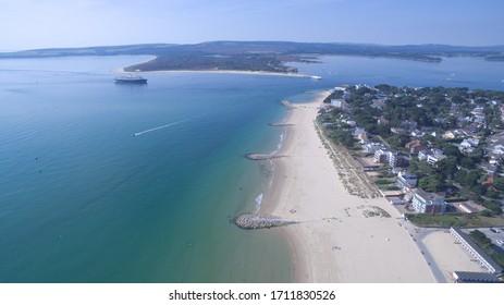 Aerial View Of Sandbanks Beach