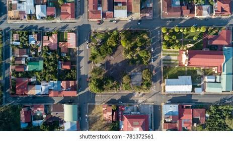 Aerial View of Santa Maria de Dota