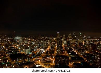 Aerial View of Seattle, Washington