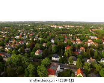 Aerial View Of Suburben Houses in germany