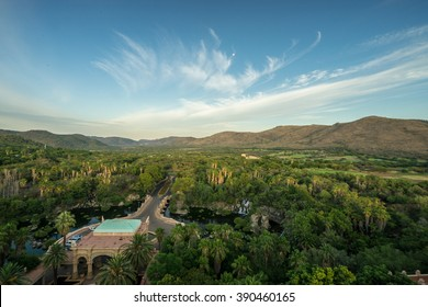 Aerial view of suncity in South Africa