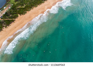 Aerial view of Sydneys Northern Beaches