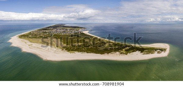 Luftbild der Insel Sylt, Norddeutschland
