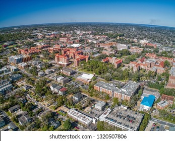 Aerial View of Tallahassee, the Capitol of the State of Florida