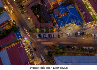 Aerial view of Tamarindo in Costa Rica