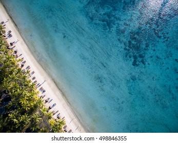 Aerial View: Trou aux Biches Beach, Mauritius