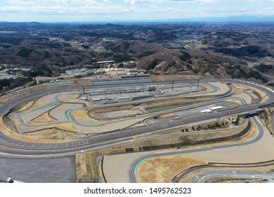 Aerial view of Twin Ring Motegi Circuit