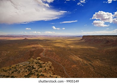 Aerial view of the Valley of the Gods, Utah