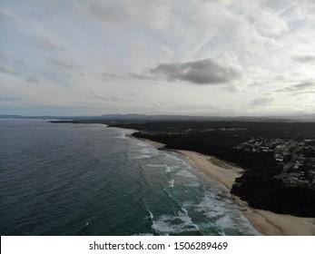 Aerial View of the Victoria Coast in Australia