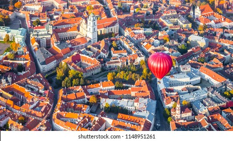 Aerial view of Vilnius, Lithuania