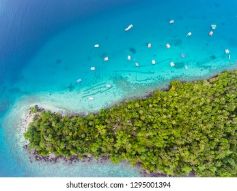 Aerial View in Weh Island, Sabang, Indonesia