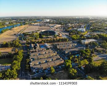 Aerial View of West Sacramento