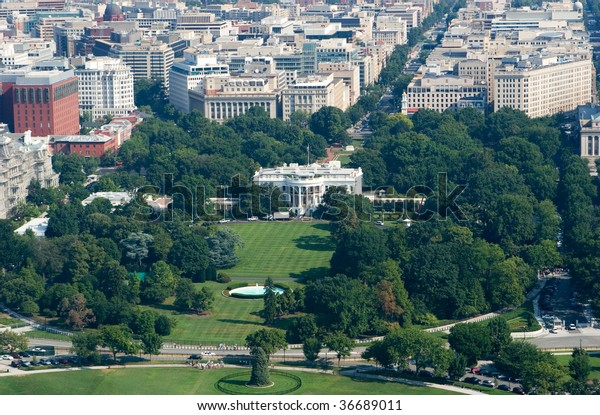 Incredible Aerial View White House Washington Dc Stock Photo Edit Now Download Free Architecture Designs Scobabritishbridgeorg