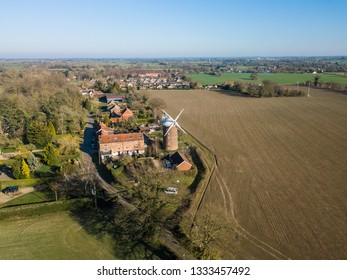 Aerial view of a Windmill