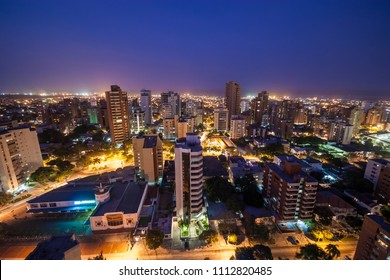 Aerial views of barranquilla, Colombia