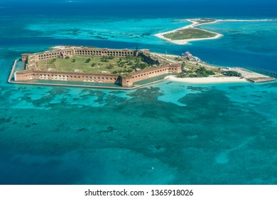 Aerial Views in Dry Tortugas National Park in Florida, United States