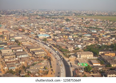 Aerial Views of Lagos - Nigeria's Economic Capital and Largest City