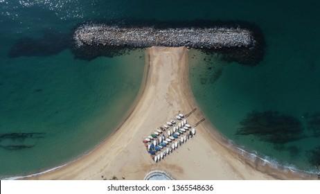 Aerial views Sant Antoni de Calonge (costa brava)