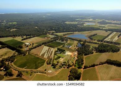 Aerial Voyager Estate, Margaret River, Western Australia