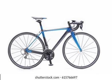Aero Carbon Road Bike in Blue Color