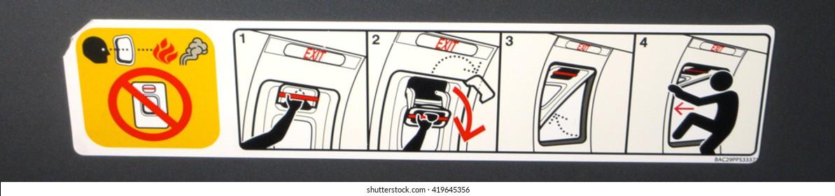 Aeroplane Safety Information Vignette