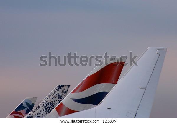 aeroplane tails