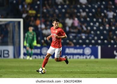 AFC Champions League 2018 : Buriram United - Guangzhou Evergrande FC, 3 April 2018, Chang Arena, Buriram, Thailand.