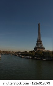 affel tower is top of the landmark in paris river