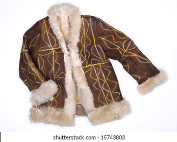 Afghan coat 1960s hippy embroidered sheepskin