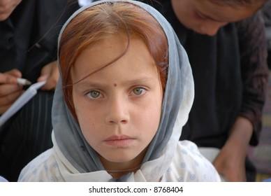 Afghan female student