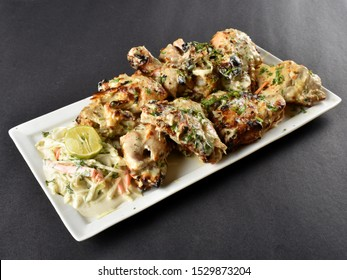 Afghani chicken (Indian Starters Dish)