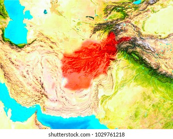 Afghanistan stock illustrations images vectors shutterstock afghanistan highlighted in red on planet earth 3d illustration elements of this image furnished gumiabroncs Image collections