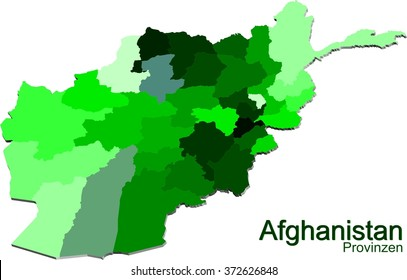 Afghanistan and provinces