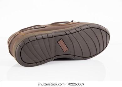 Afife, Portugal - August 24, 2017: Jack Morgan Shoes. Jack Morgan, Portuguese company. Isolated on white. Product shots