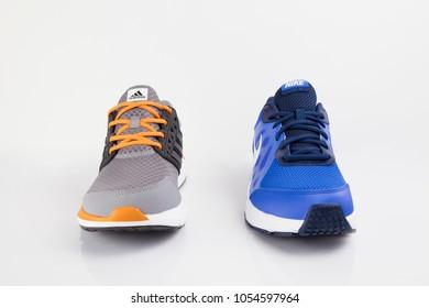 7fb1f45c9ee Adidas Nike Stock Photos