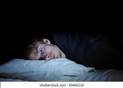 Afraid of the dark. Insomnia.