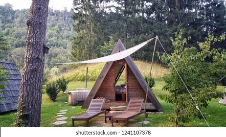A-Frame Glamping Structure