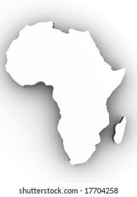 Africa. 3d