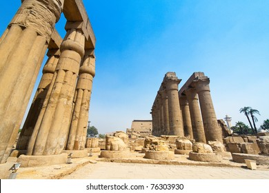 Africa, Egypt, Luxor, Amun Temple of Luxor. One of the landmarks